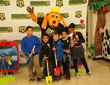 811 Mascot | Atlanta Mascot Productions