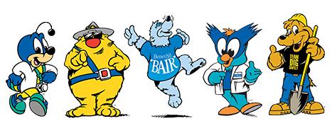 Atlanta Mascot Productions | Our Mascots