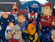 Various Atlanta Mascots | Atlanta Mascot Productions
